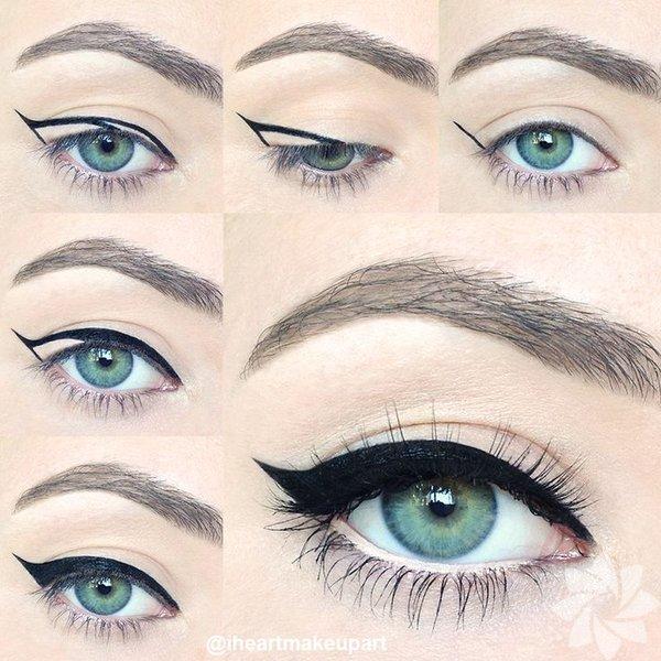 Eyeliner Sürmenin Kolay Yöntemi 72