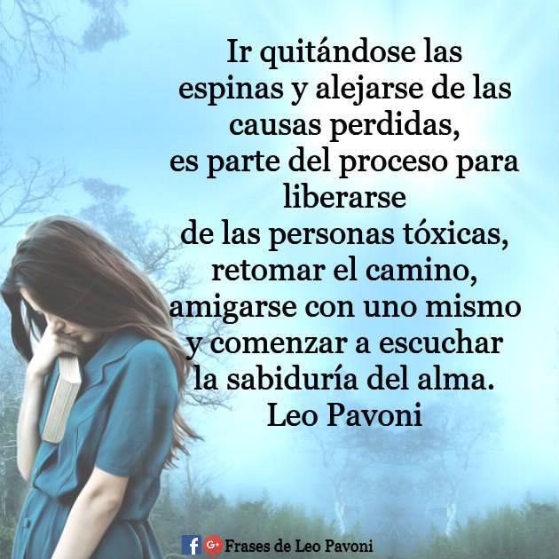 Frases De Leo Pavoni Alejarse De Las Causas Perdidas