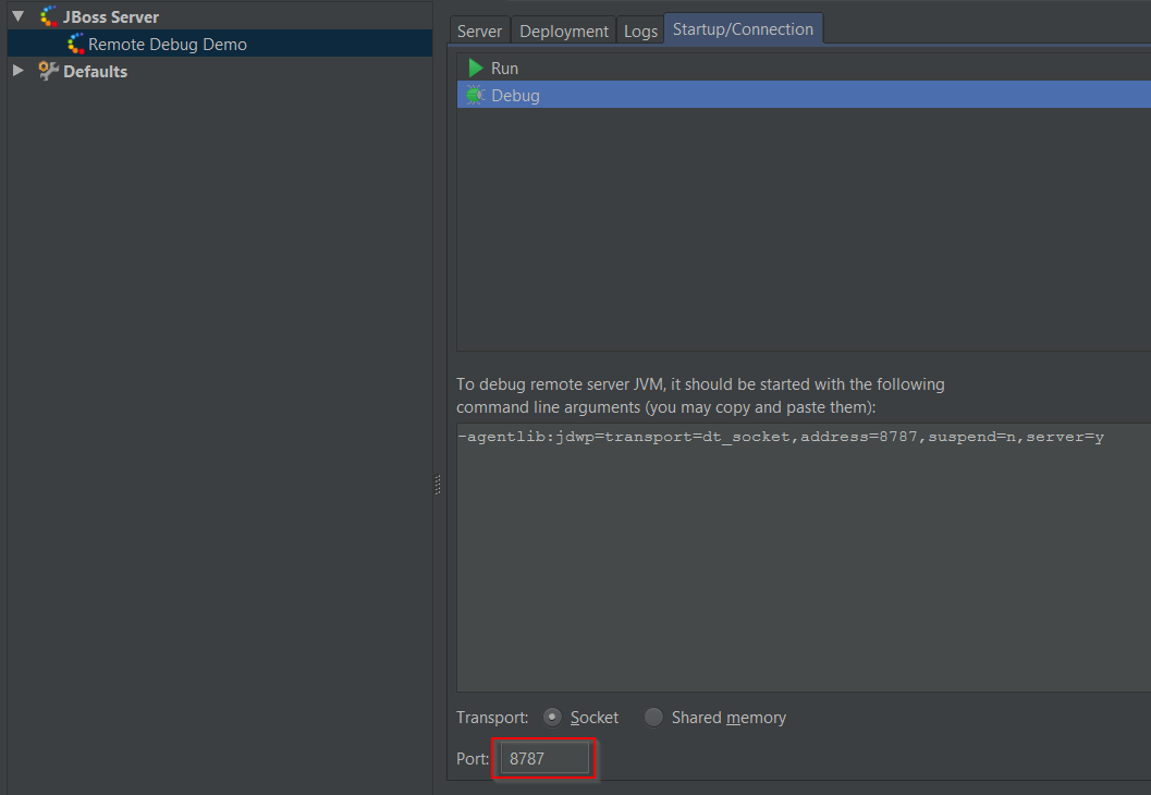 Remote debugging Wildfly application in IntelliJ ~ Codeleak pl