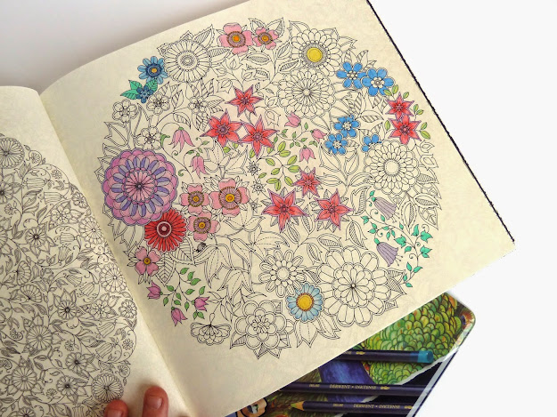 Coloring Book For Grownups Secret Garden Review