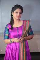 Shilpa Chakravarthy in Purple tight Ethnic Dress ~  Exclusive Celebrities Galleries 024.JPG
