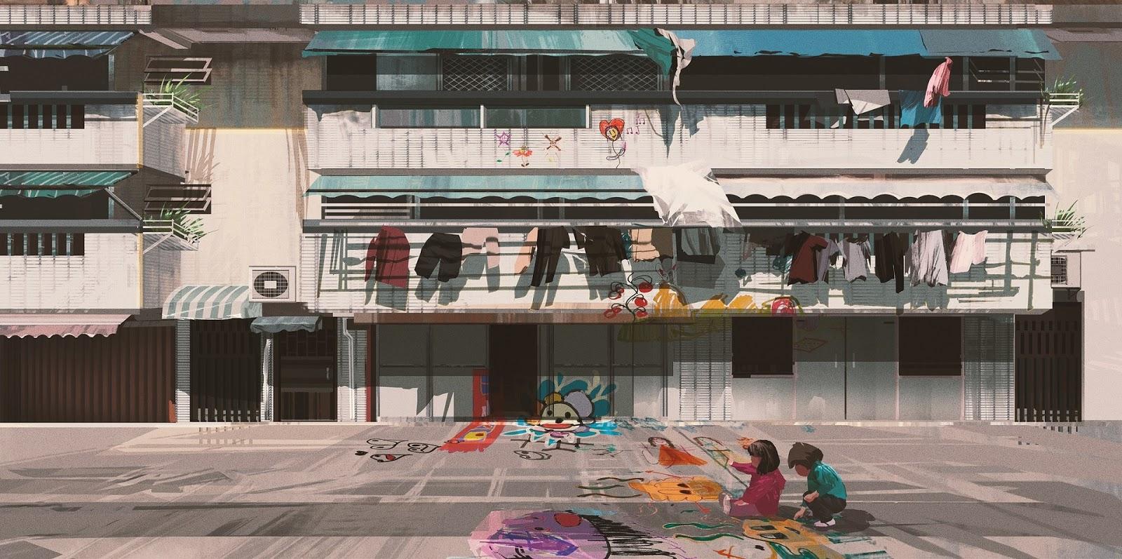 Concept Art by Donglu Yu