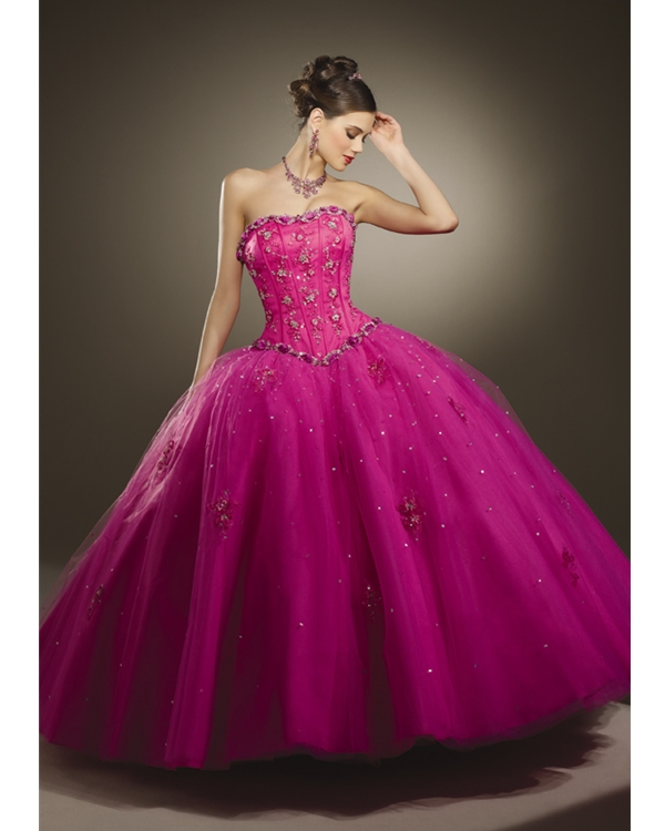 Apply, Party Dresses, Pink Dresses, Ball Gowns, Quince ...