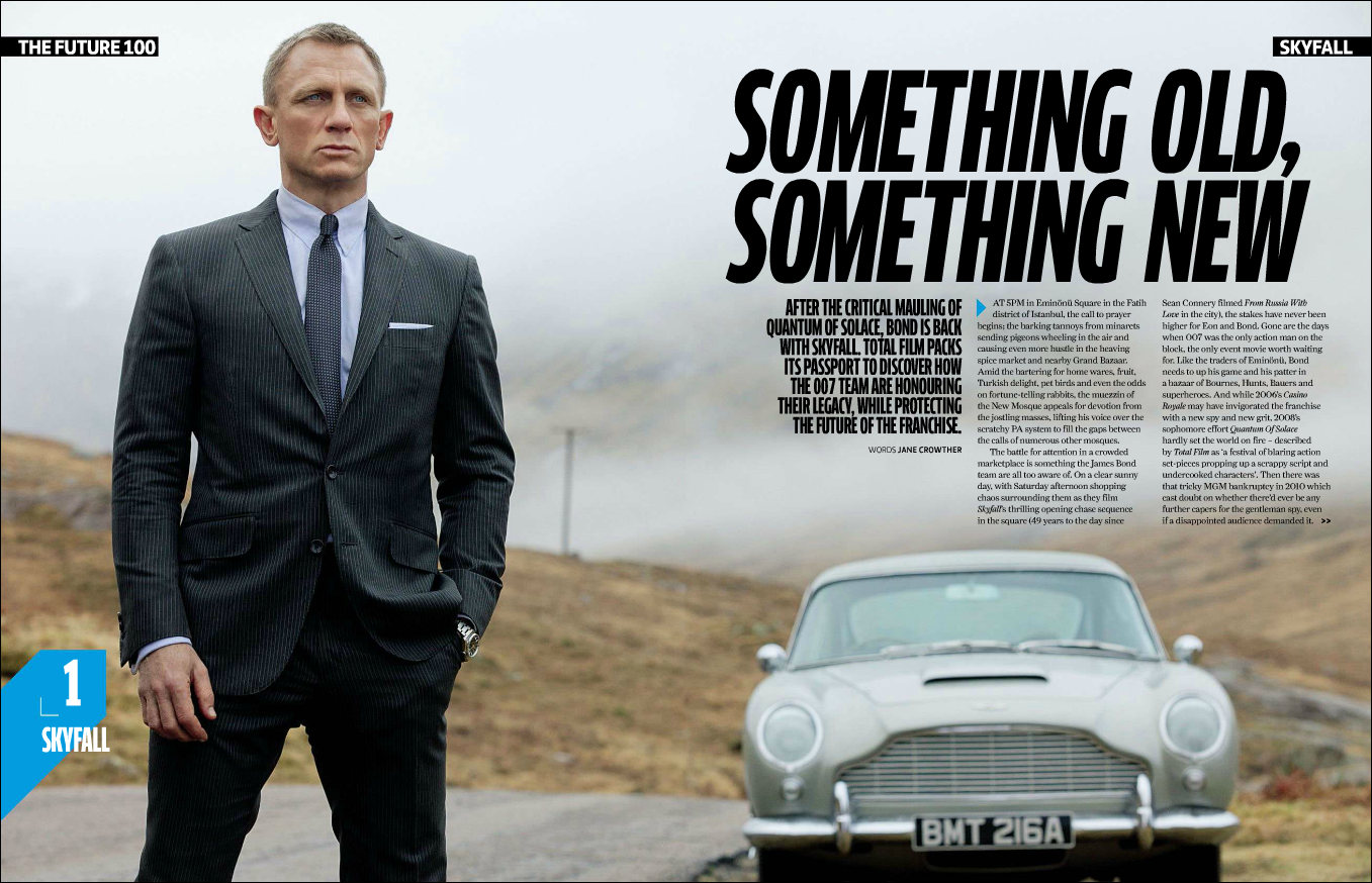 What is Skyfall Detailed analysis 70