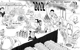 Christian Hildebrandt, Karikatur, Weltpolitik, Weltgeschehen 2012