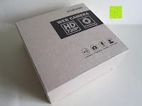Verpackung: AUSDOM® AW310 720P USB 2,0 HD Webcam Kamera mit eingebautem Mikrofon für PC, Laptop Schwarz