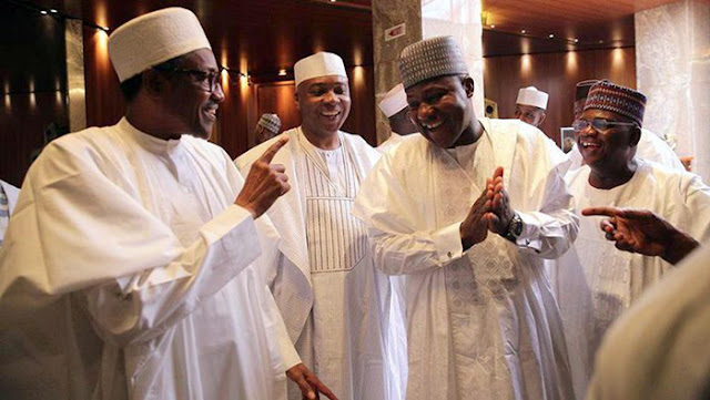 Speaker Dogara In Alleged 5-minute Conversation With President Buhari