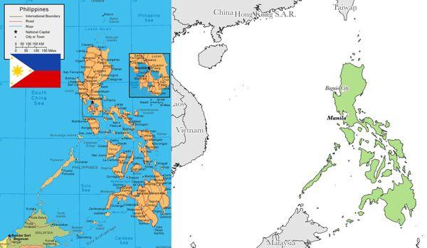 Profil Peta Negara Filipina