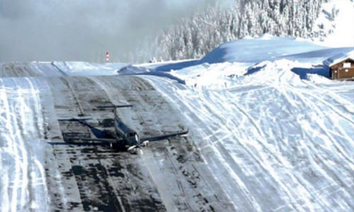 COURCHEVEL AIRPORT (PRANCIS)