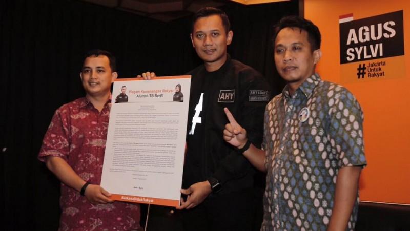 Deklarasi dukungan Ikatan Alumni ITB kepada Agus Yudhoyono