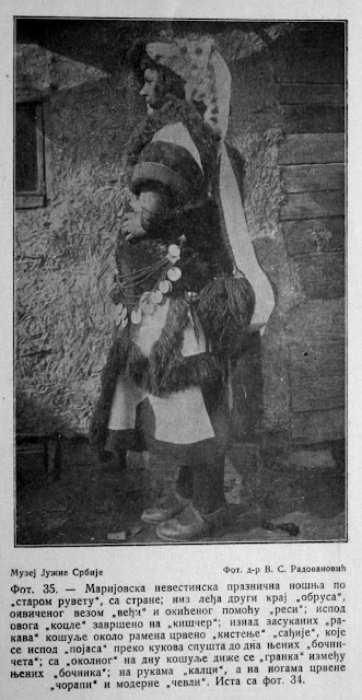 Macedonian national costumes from Mariovo region 35