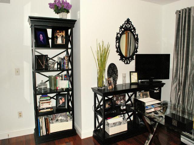 Decoração de home office pequeno. Blog Achados de Decoração