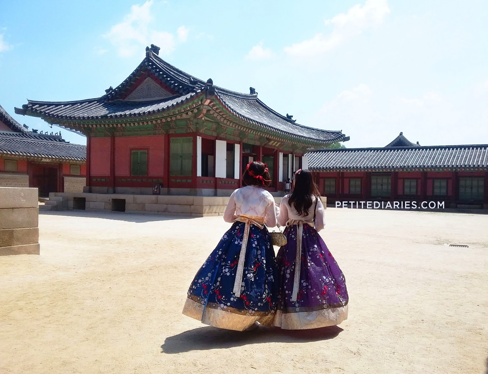 gyeongbokgung rental hanbok review