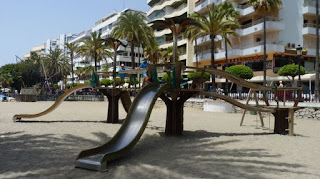 Playa de Marbella.