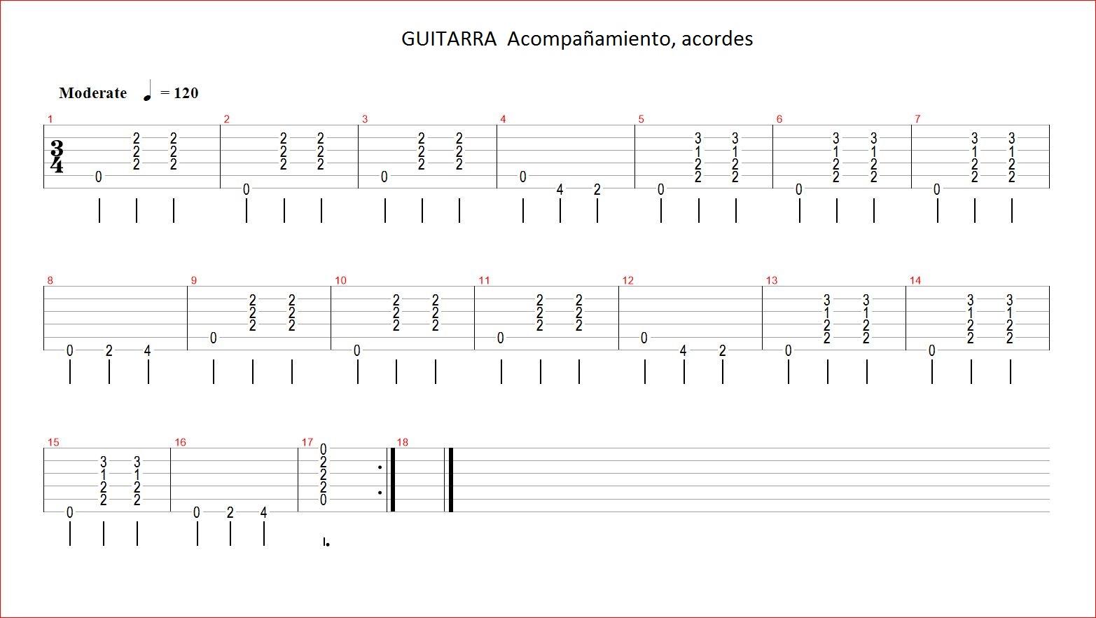 De Noviembre De 2013. Acordes Y Tablaturas De Canciones Para Guitarra ...