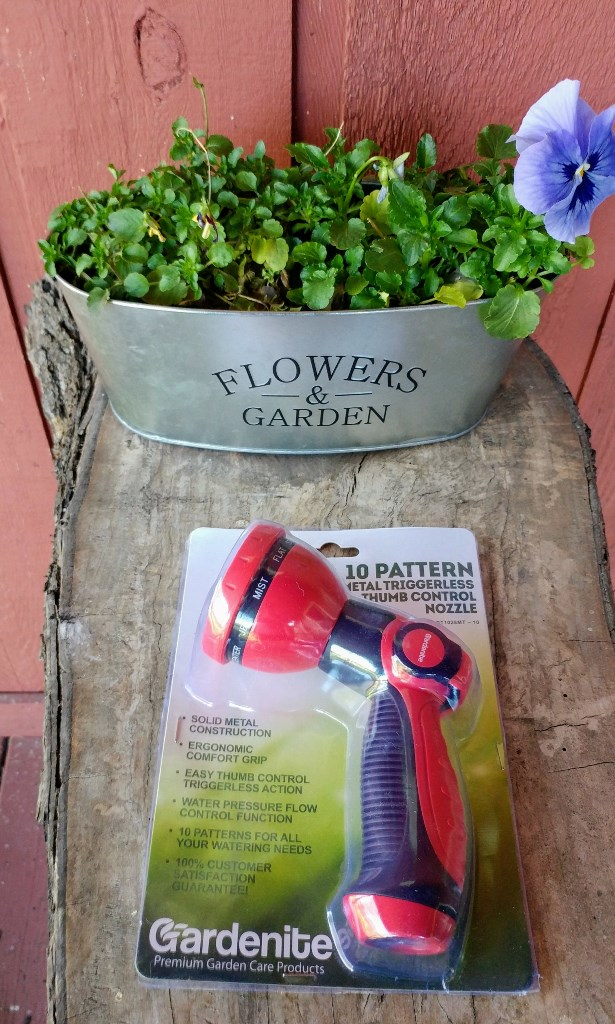 Gardenite Garden Nozzle Hand Sprayer review & giveaway