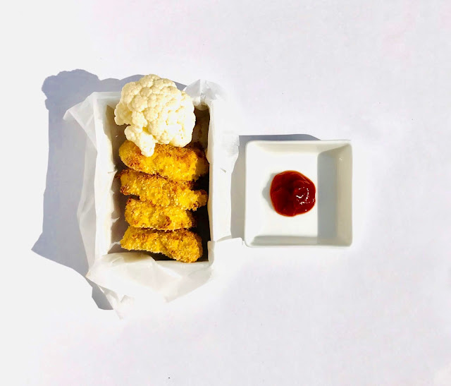 nuggets de chou fleur pour les enfants