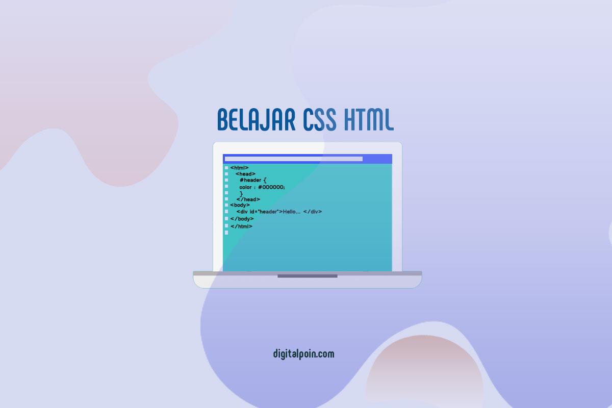 Belajar Kode CSS, HTML Terlengkap dan JavaScript Dasar