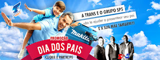 Promoção Dia dos pais 2016 Transcontinental FM