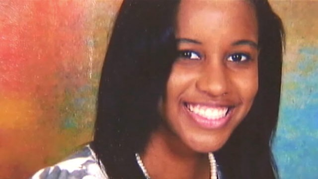 """Phylicia Barnes was a beautiful 16 year old straight """"A"""" student from North  Carolina who disappeared in December during a Christmas break visit to her  ..."""