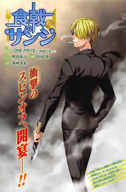 Spoiler Manga Shokugeki No Sanji Bahasa Indonesia - Chapteria