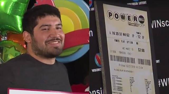 A 24 year old Winner of $768.4 million Powerball jackpot, Manuel Franco revealed