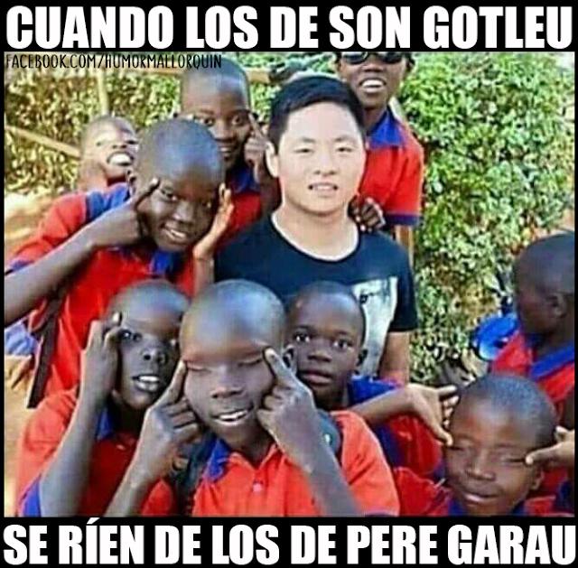Cuando los de Son Gotleu se mofan de los de Pedro Garau