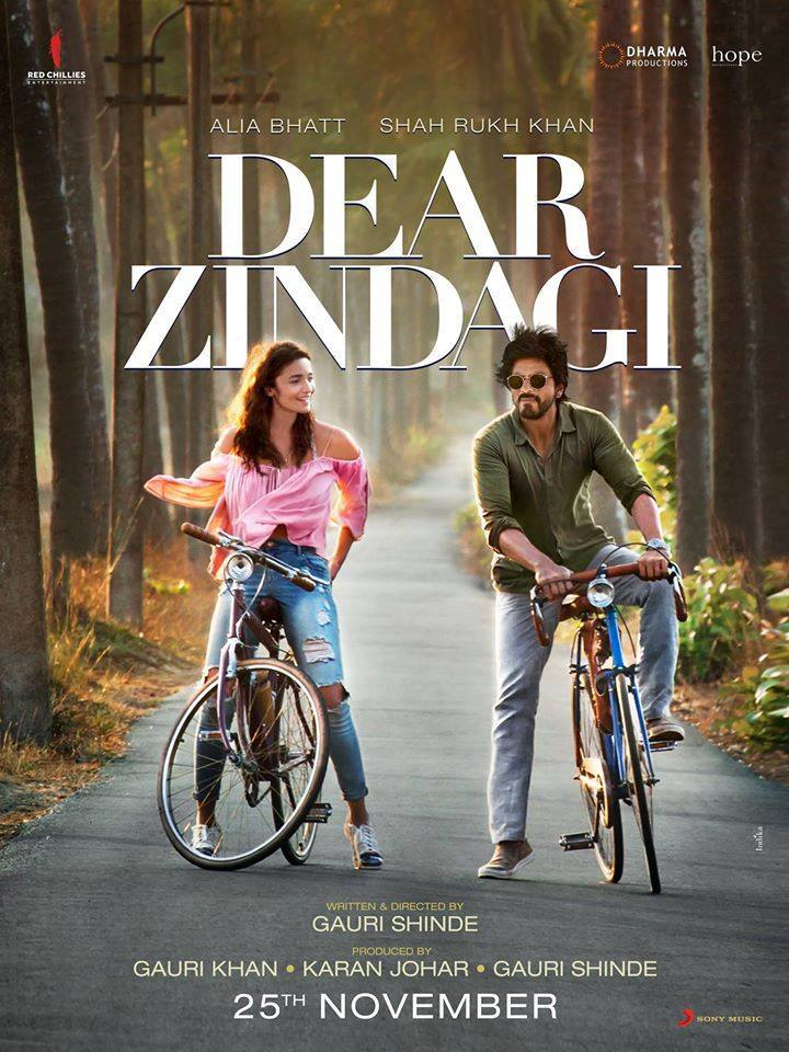 Dear Zindagi (2016) Full Movie Free Download HD Print Watch Online