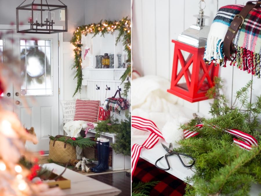 wystrój wnętrz, wnętrza, urządzanie mieszkania, dom, home decor, dekoracje, aranżacje, Święta, Boże Narodzenie, Christmas, home tour, świąteczne dekoracje, decorations, czerwień, red
