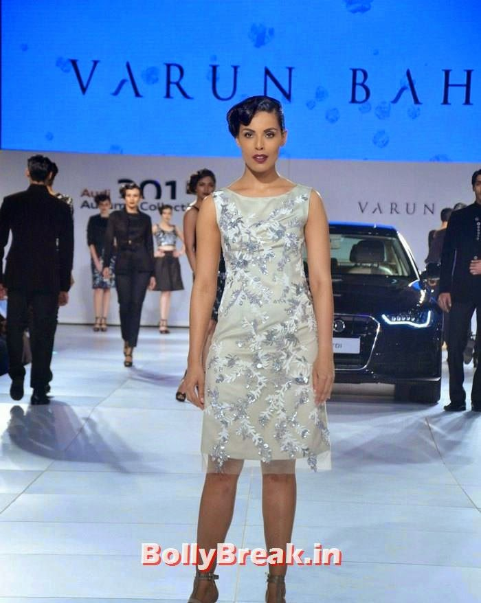 , Images of Hot Indian Models for Audi Car Launch Fashion Show