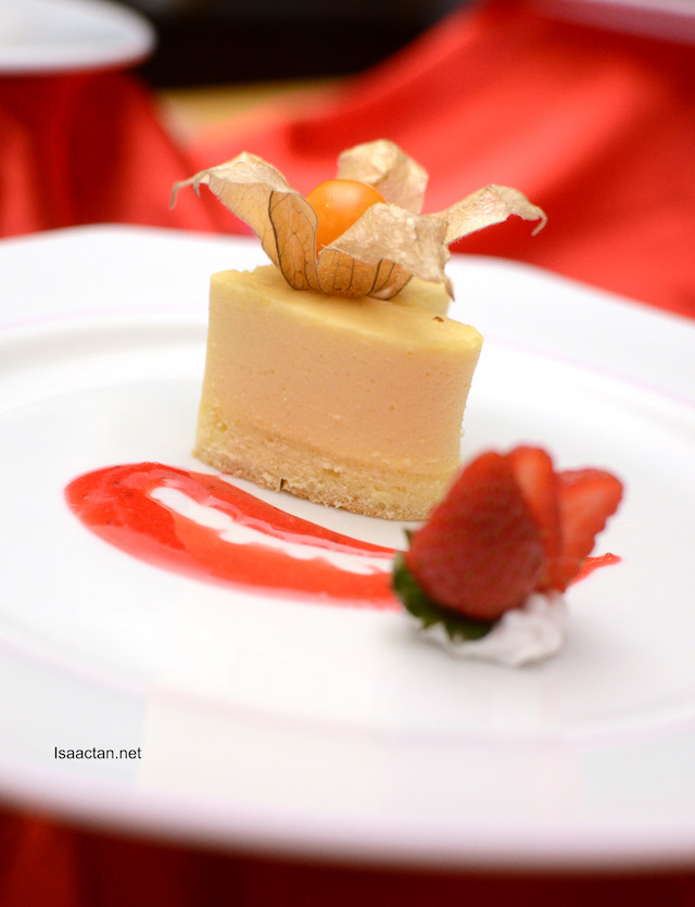 Passion Fruit Mousse with Berries