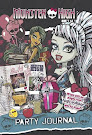 Monster High Monster High Party Journal: With Fill-in Pages and High-Voltage Party Tips! Book Item