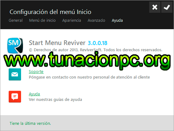 Start Menu Reviver, Menu de Inicio para Windows 10 y 8.1