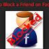 How to Block My Friend Facebook Account