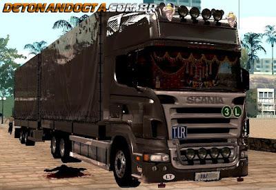 GTA SA - Scania R620 V8 + Trailer