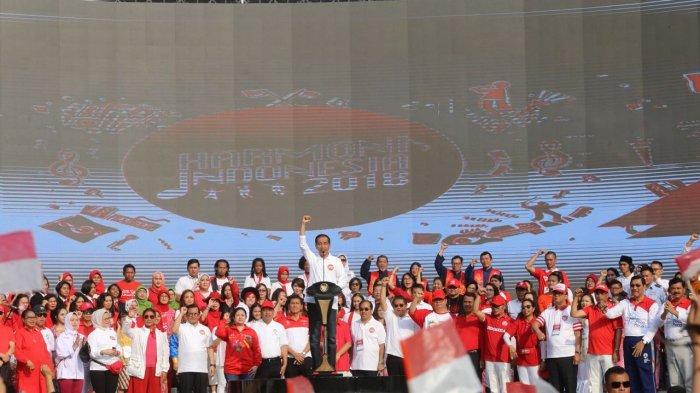 Menko PMK Hadiri Harmoni Indonesia 2018 di GBK