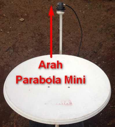 Mengarahkan Parabola Mini
