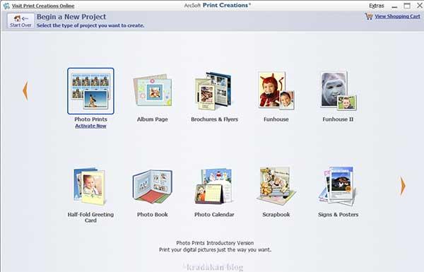 Print creations software membantu buat brosur dan spanduk