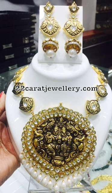 Heavy Chokers from Krishna Jewellers