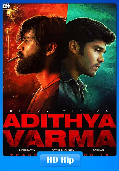Adithya Varma 2019 Hindi 720p HDRip x264   480p 300MB   100MB HEVC Poster