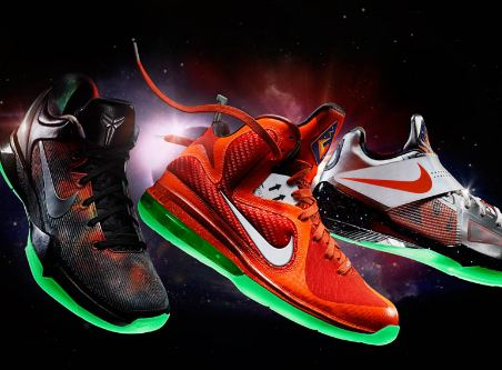 the best attitude b80ef ca7b9 Here is some official images of the Nike Lebron 9,KD   Kobe 7 Galaxy  Allstar Sneakers releasing on the 24th, I will say I recommend all you that  ...
