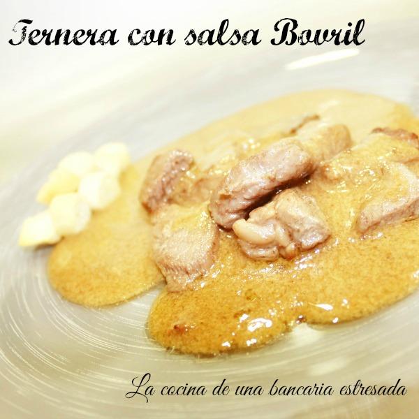 Receta de ternera con salsa Bovril paso a paso