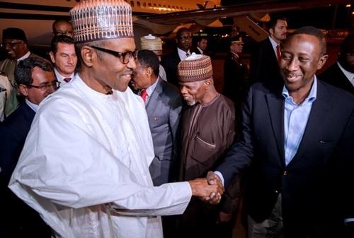 Photos..President Buhari arrives Turkey