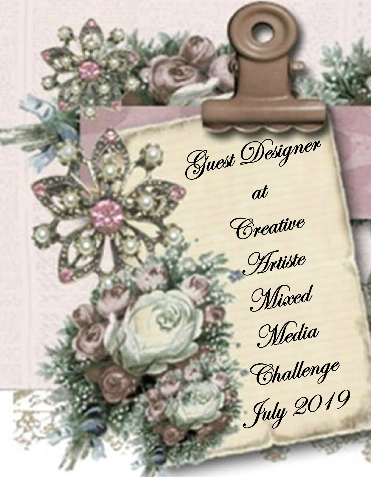 Creative Artiste Mixed Media Challenge