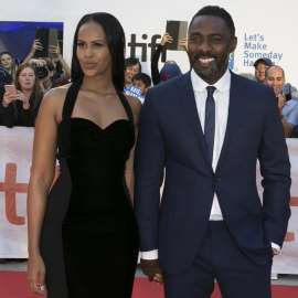 Idris Elba's fiancée is being attacked by his fans