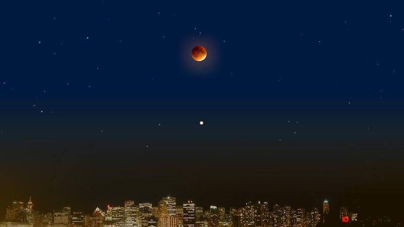 «27 июля 2018 года — полное лунное затмение и великое противостояние Марса» | статья Андрея Климковского