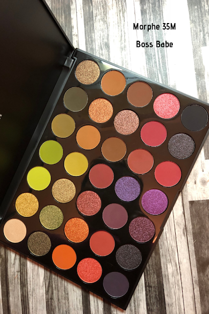 Morphe 35M Boss Babe (Review and Swatches)