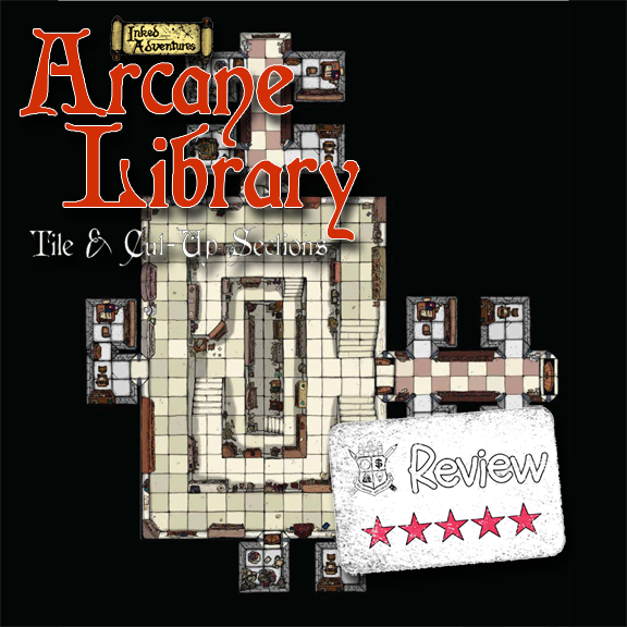 Frugal GM Review: Inked Adventures Arcane Library
