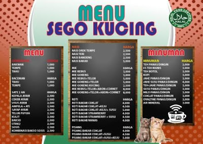 menu sego kucing bsi square