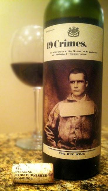 19 Crimes Wein